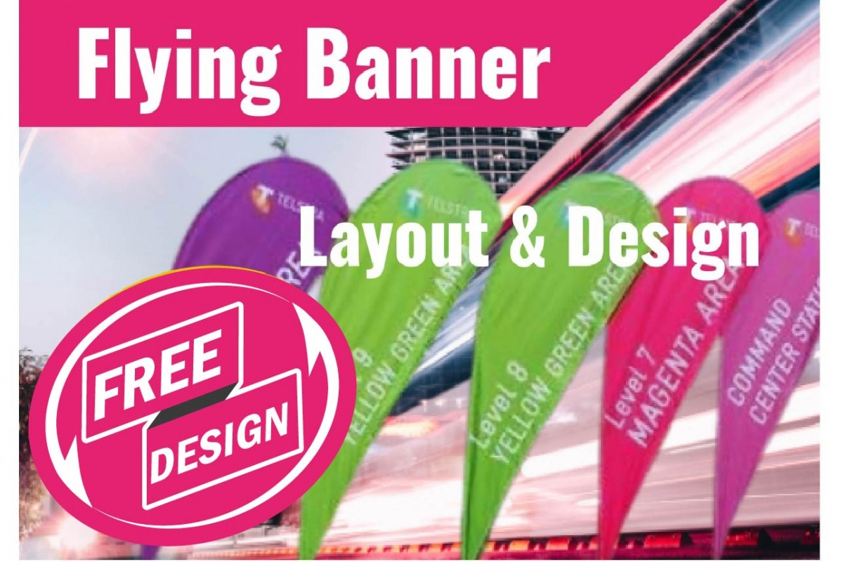 FREE Design for Banner (Just Pay Refundable Deposit)