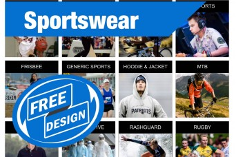 FREE Design for Sportswear (With Refundable Deposit)