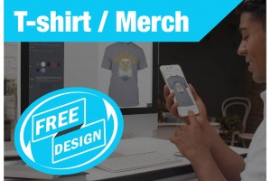 FREE Design for T-Shirts (Just Pay Refundable Deposit)