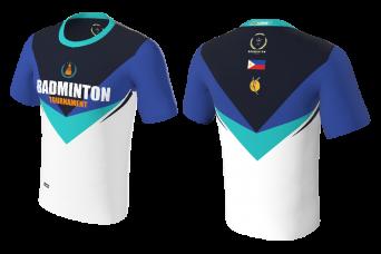 FNF -  Badminton, Blue Badminton Tournament, Sublimated Tshirt