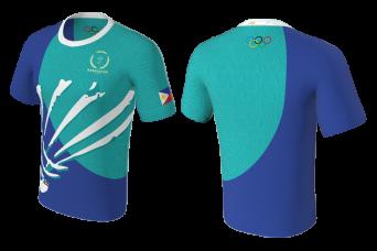 FNF -  Badminton, Blue Badminton Club, Sublimated Tshirt