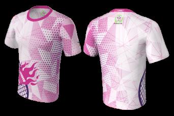 FNF -  Badminton, Pink Badminton Club, Sublimated Tshirt