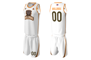 FNF - Basketball, Bulldogs Team Uniform, Sublimated Tops and Shorts
