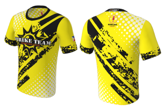 FNF -  Bowling, Yellow and Black Strike Team, Sublimated Tshirt
