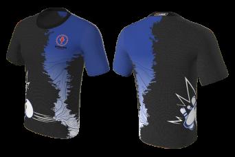 FNF -  Bowling, Black and Blue Bowling Club, Sublimated Tshirt