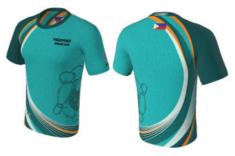 FNF -  Bowling, Teal Philippines Bowling Club, Sublimated Tshirt