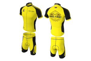 FNF - Cycling, Wheel D Beast Two Tone Cycling Set, Sublimated Tops & Shorts