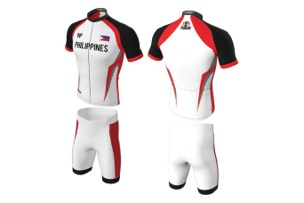 FNF - Cycling, Philippines Cycling Team, Sublimated Tops & Shorts
