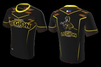 FNF -  Esports, Black Legion Team Philippines, Sublimated Tshirt