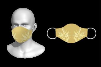 FNF - Washable Facemask, Floral Design 4, Spandex with Filter Pocket