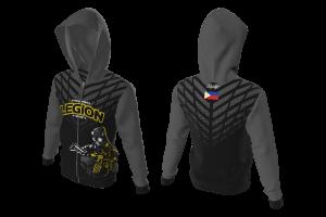 FNF - Gamers Hoodie, Esports Legion Team Philippines, Sublimated Hoodies