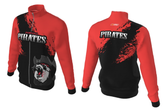 FNF - Red and Black Panda Pirates, Sublimated Jacket