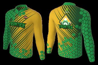 FNF -  Mountan Bike, Green Frontier, Sublimated Long Sleeve Shirt