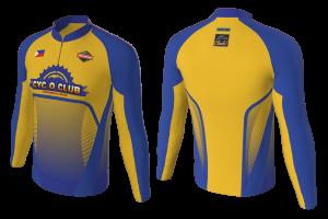 FNF -  Mountan Bike, Cyc O Club, Sublimated Long Sleeve Shirt