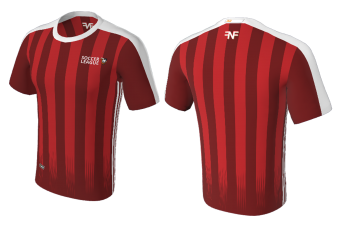 FNF -  Soccer, Red League Team, Sublimated Tshirt