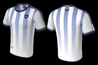 FNF -  Soccer, Blue White Soccer Club, Sublimated Tshirt
