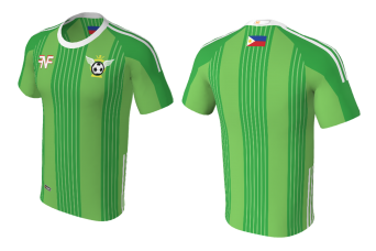 FNF -  Soccer, Green League Team, Sublimated Tshirt
