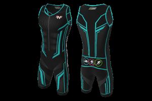 FNF - Triathlon, Tron Suit, Trisuit Sublimated Jersey