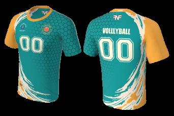 FNF -  Volleyball, Aqua Volleyball Club, Sublimated Tshirt