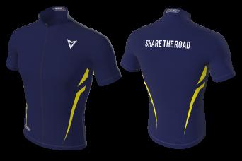 MVV Navy Lit Cycling Jersey