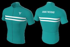 MVV - Cycling Jersey Cyan Lit