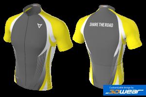 MVV - Cycling Jersey Lightning Yellow