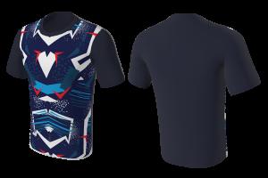 MVV T-Shirt Drifit E-Gamers Radical Front Design
