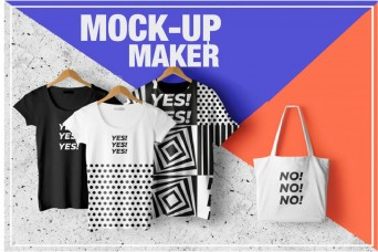 The Flitters will  make mock-ups for apparel and other products