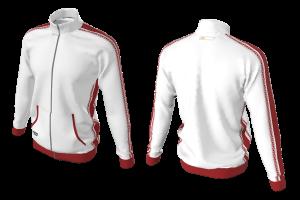 RAD - Jacket Red White Sublimated