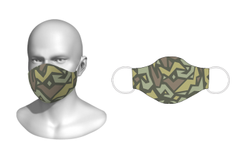 RAD - Facemask Design 11 All Day Washable Facemask