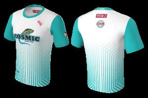 RAD - Cosmic Frisbee Team Colored T-Shirt