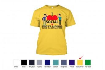RAD - T-Shirt Cotton Social Distancing, Covid